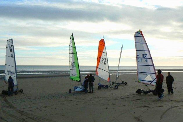 Char à voile : les Championnats de France ce week-end en Normandie