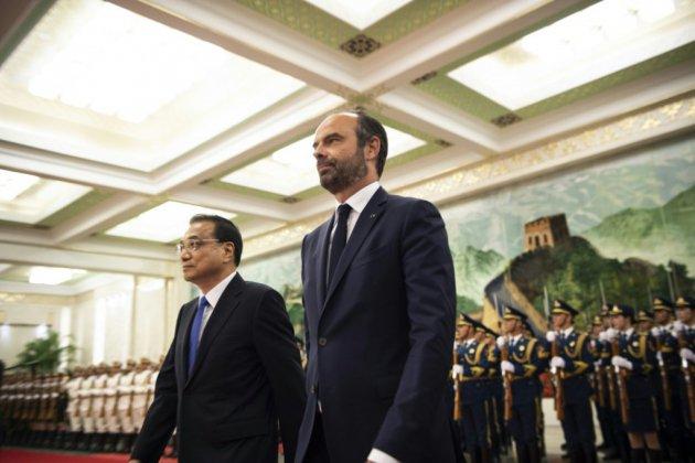 En Chine, Philippe obtient un accord sur le boeuf et des promesses renouvelées pour Airbus