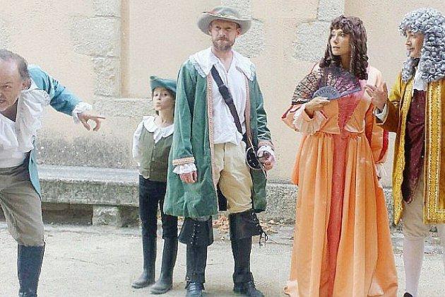 [RENCONTRE]: Le Bossu, au château du Bourg-St-Léonard