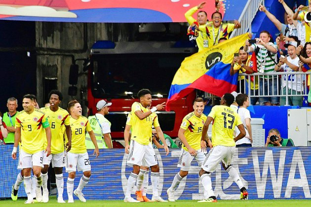 Mondial-2018: la Colombie renverse tout, le Sénégal fait ses cartons