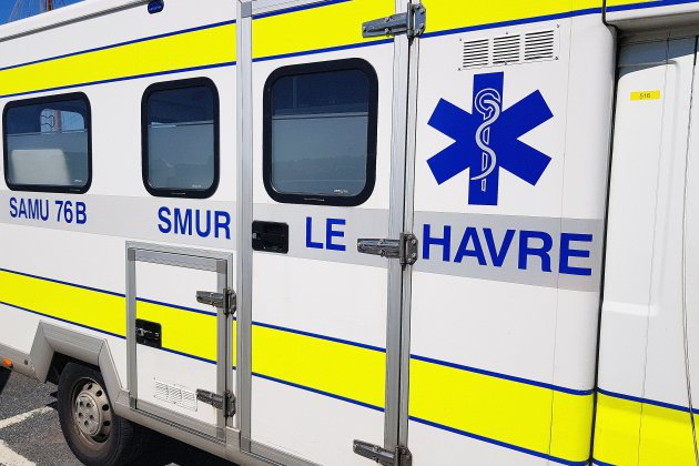 Le Havre : un piéton renversé par une voiture grièvement blessé