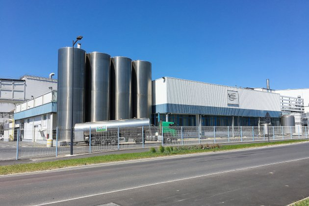 L'usine Isigny-Sainte-Mère nous a exceptionnellement ouvert ses portes