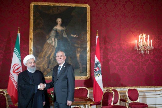 Visite du président iranien en Autriche, assombrie par l'arrestation d'un diplomate