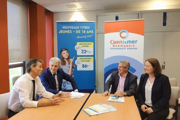 Nouveaux abonnements de bus à la rentrée 2018-2019 à Caen