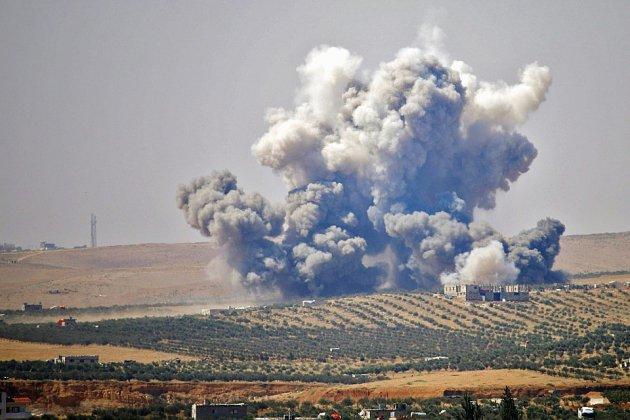 Déluge de feu sur les zones rebelles de Deraa en Syrie