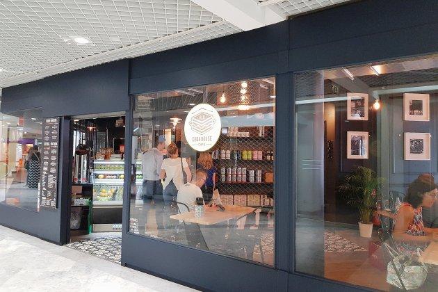 À Caen, le Crok House Café pour une pause pendant son shopping