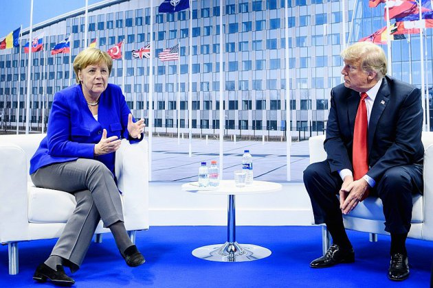 Otan: après le choc Trump, l'Afghanistan et l'Ukraine au menu jeudi
