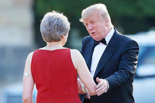 """""""Où sont vos bonnes manières, M. Trump?"""", s'emportent les politiques britanniques"""