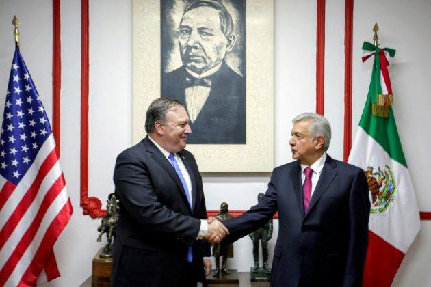 Pompeo rencontre à Mexico le président-élu Lopez Obrador