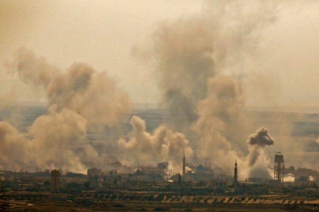 Le régime syrien progresse dans le Sud face aux rebelles
