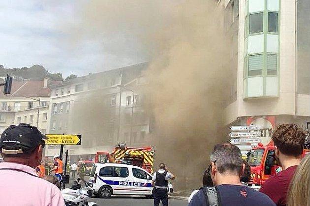 [vidéo] Le Havre: important incendie avenue René Coty