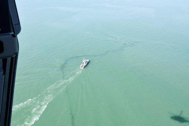 Pollution maritime: alerte levée sur le littoral est du Calvados