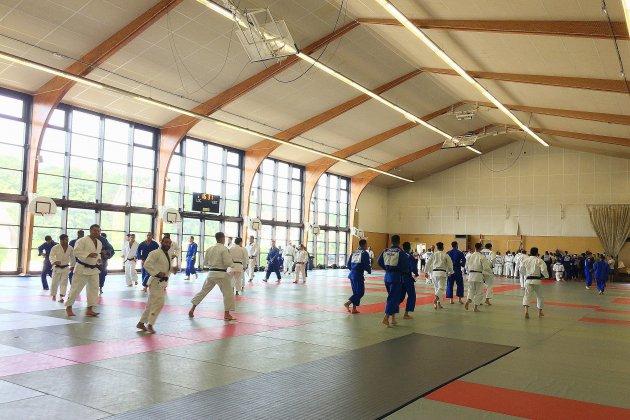 Houlgate et l'équipe de France de judo, une histoire d'amour