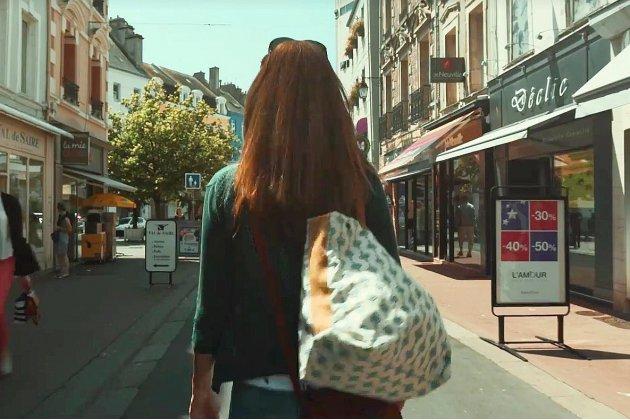 À Cherbourg, une vidéo pour faire la promo du commerce