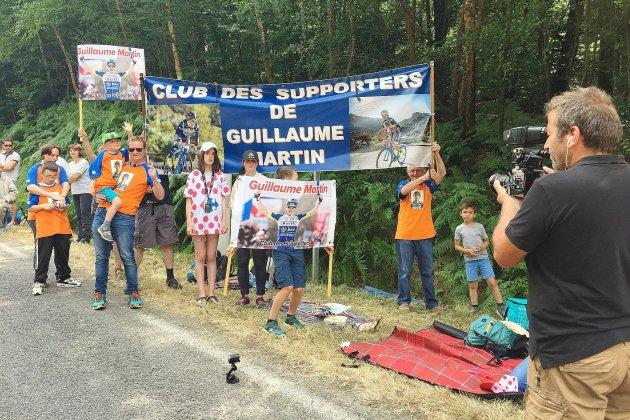 Dans le Calvados, le club des supporters de Guillaume Martin