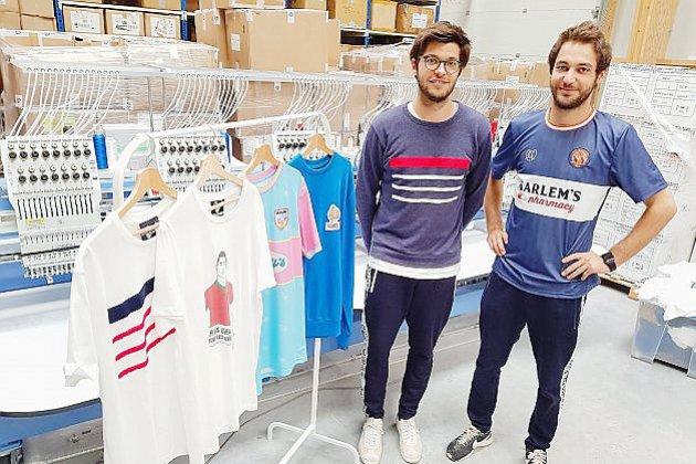 A Caen, les champions du monde de foot sur des tee-shirt