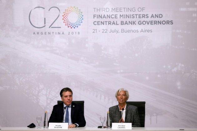 G20 Finances: les Etats-Unis inflexibles, le bras de fer commercial perdure
