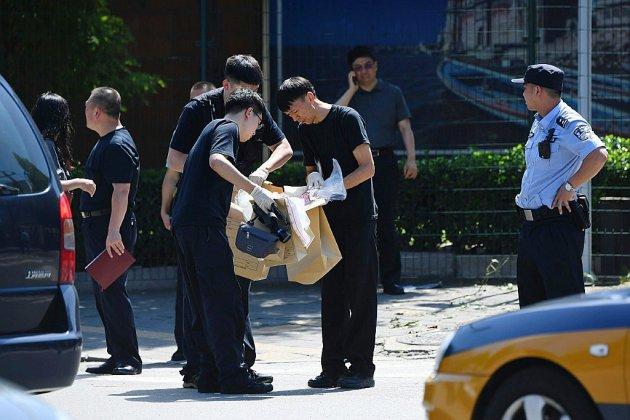 Chine: un homme provoque une explosion devant l'ambassade des Etats-Unis à Pékin
