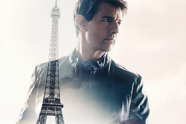 """Mission: Impossible"": Tom Cruise à Paris dans un nouveau festival de cascades"