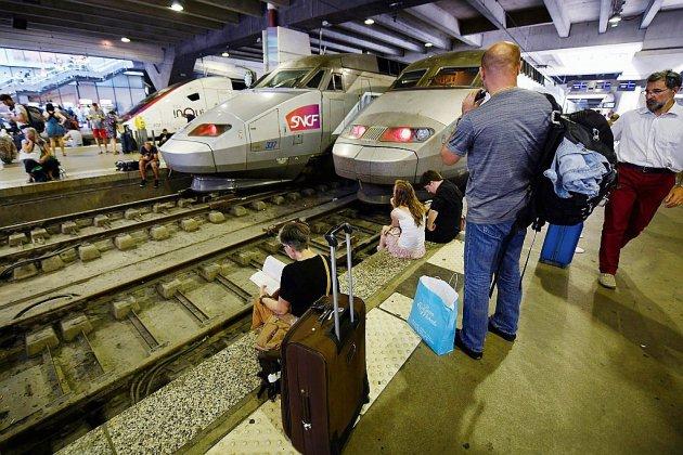 Montparnasse : avec un train sur deux, la circulation reste très perturbée