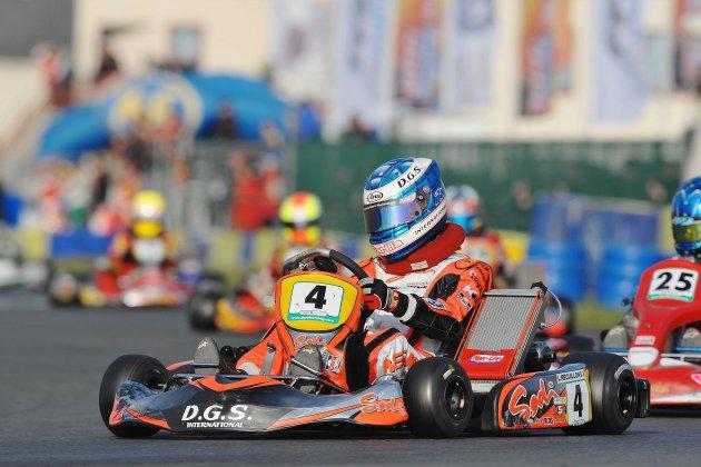 Deux finales européennes de karting disputées dans l'Orne