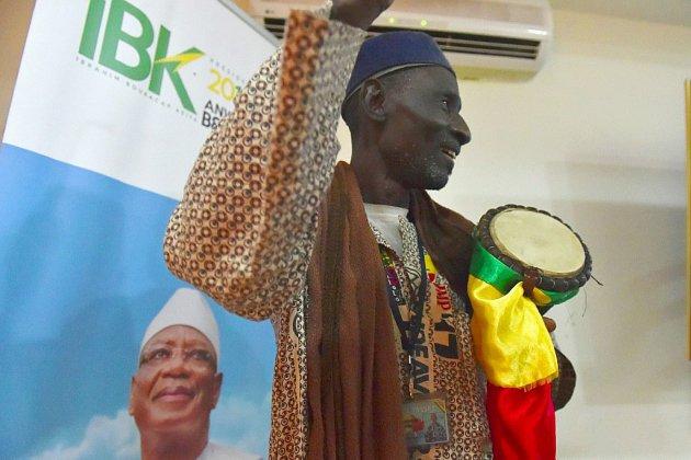 """Mali: """"IBK"""" largement en tête, le chef de l'opposition tente de mobiliser"""