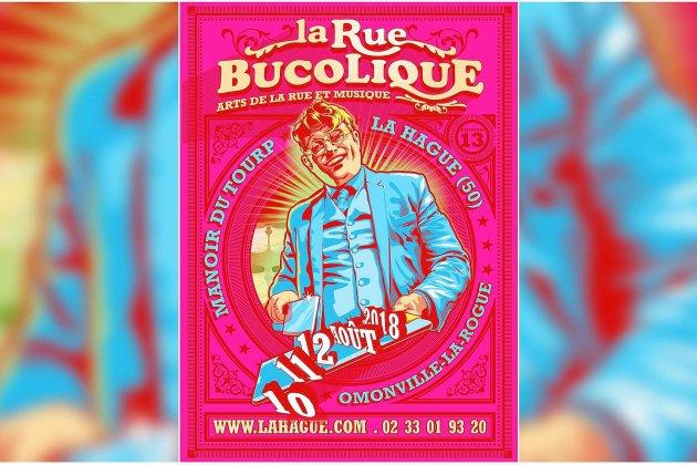 La Rue Bucolique investit le Manoir du Tourp à Omonville-La-Rogue du 10 au 12 août 2018 (Manche)
