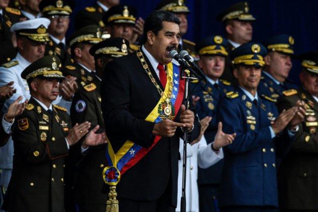 Venezuela: Maduro dit avoir échappé à un attentat et accuse la Colombie