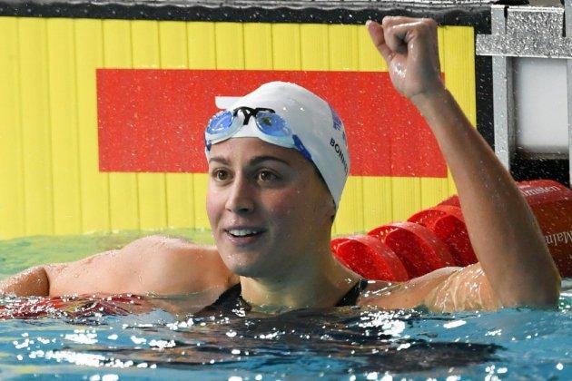 Natation: Charlotte Bonnet sacrée championne d'Europe du 200 m