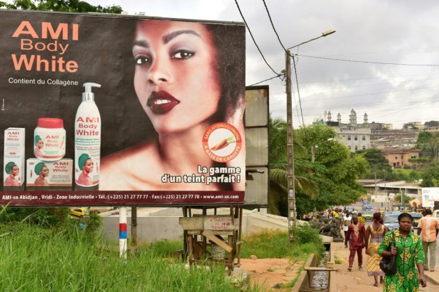 L'Afrique, toujours accro aux produits pour se blanchir la peau
