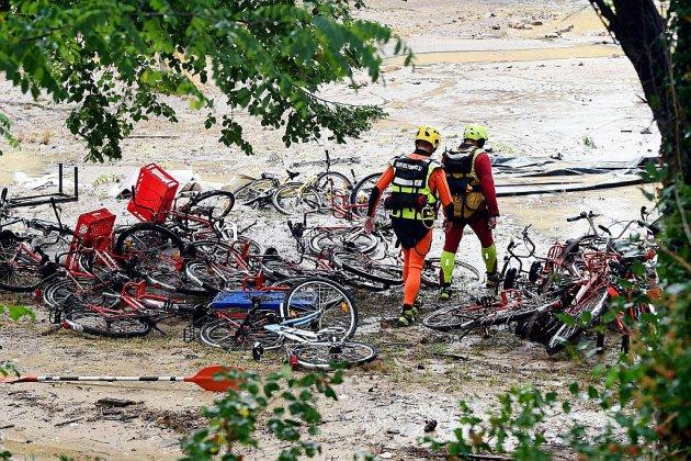 Gard: poursuite de la garde à vue des deux responsables de la colonie allemande inondée
