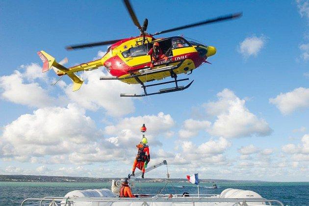 Seine-Maritime : trois kayakistes secourus par l'hélicoptère Dragons 76