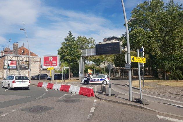 Désamorçage d'une bombe : opération réussie à Rouen