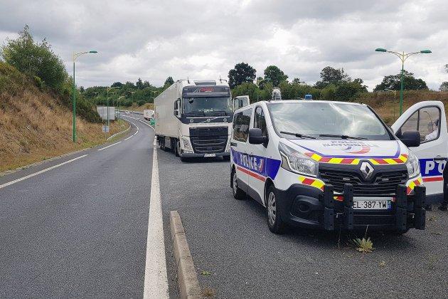 Manche: 14 automobilistes sanctionnés en deux heures