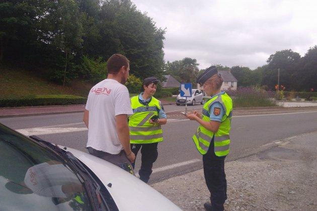 Vaste opération de gendarmerie autour de Cherbourg