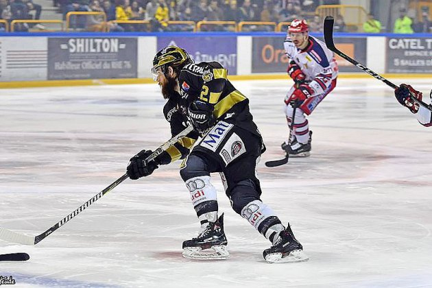Hockey-sur-glace: les Dragons de Rouen perdent encore mais affichent un bien meilleur visage