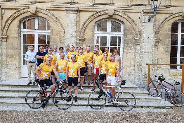 Fécamp-Mont-Saint-Michel à vélo: entretenir le jumelage franco-belge