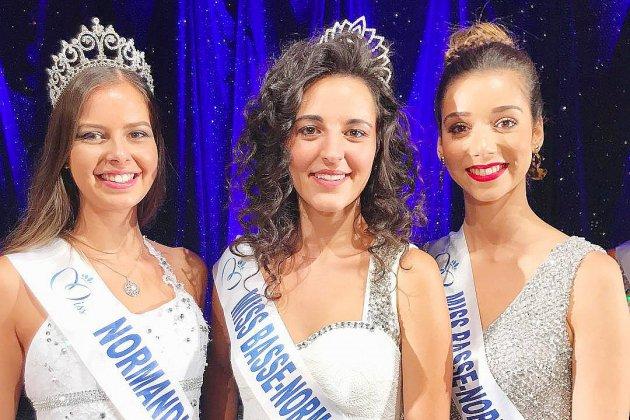 Justine Geslin élue Miss Basse-Normandie 2018