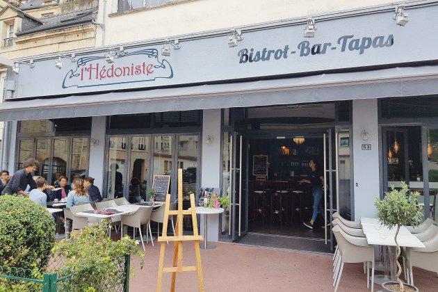 L'hédoniste à Caen: brasserie le jour, bar à tapas la nuit