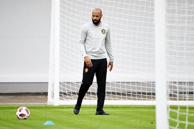 Belgique: Thierry Henry promu premier adjoint du sélectionneur Martinez (Fédération)