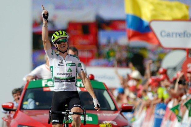 Tour d'Espagne: King gagne encore au sommet, Simon Yates en rouge