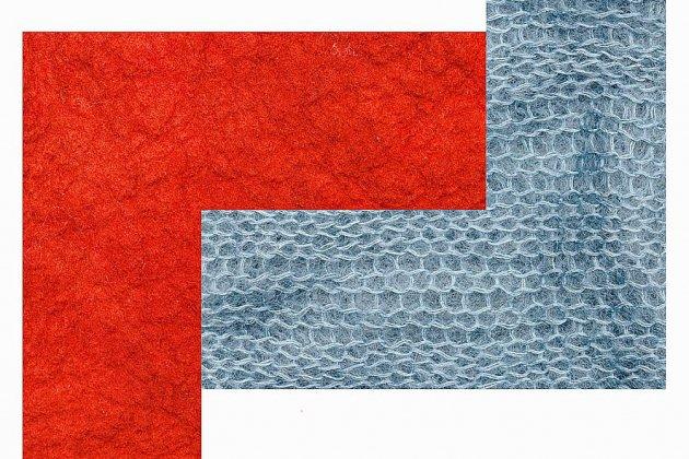 Du rouge garance au bleu d'horizon, les couleurs s'exposent à Caen