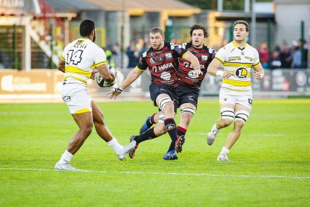 Fédérale 1: le Rouen Normandie Rugby démarre pied au plancher
