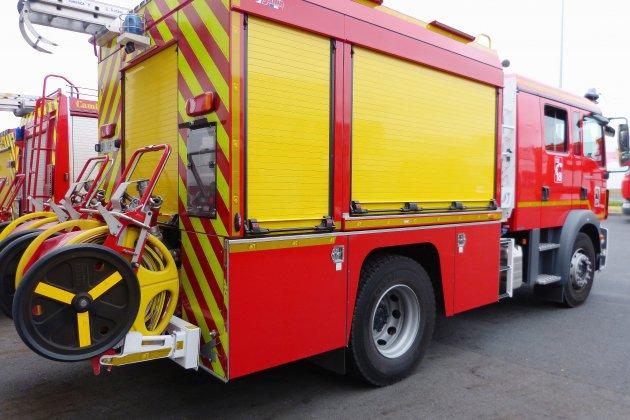 Orne: 27 tonnes de paille en feu sur un camion