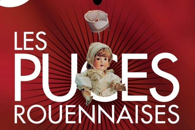 Les puces Rouennaises sont de retour au parc expo de Rouen