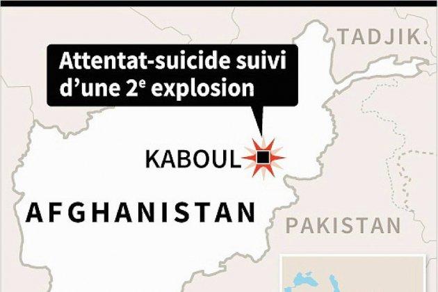 Afghanistan: au moins 20 morts dans un double attentat contre un club de sport de Kaboul