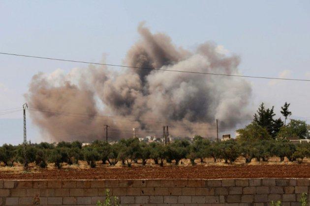 Syrie: bombardements intensifs contre Idleb, après l'échec du sommet de Téhéran