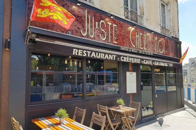 Bonne table à Caen: Ju'ste Chez Moi, des crêpes comme à la maison