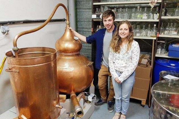 Près de Caen, ils lancent la première vodka made in Normandie