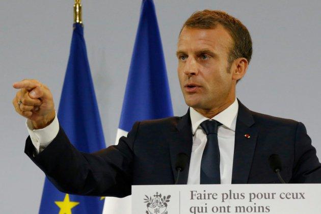 Macron parie sur un revenu universel d'activité contre la pauvreté